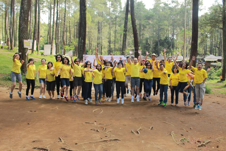 Outbound di Grafika Cikole