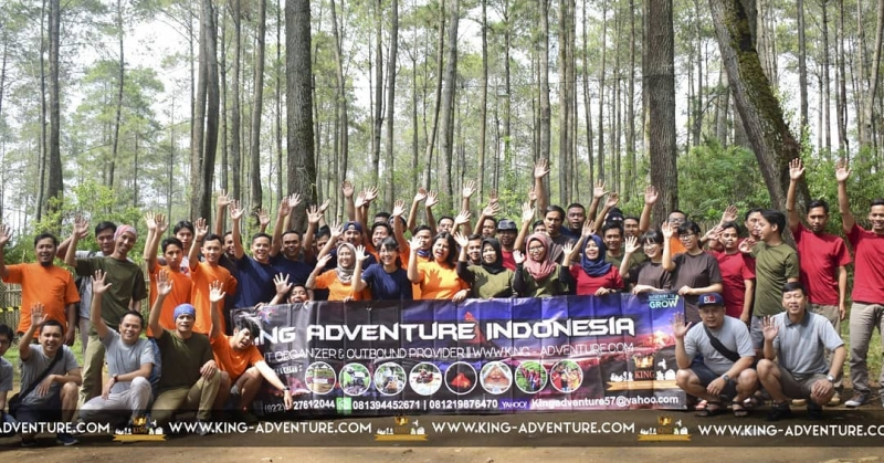 outbound bandung king adventure