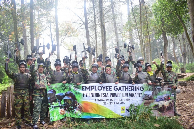 outbound bandung paint ball 2