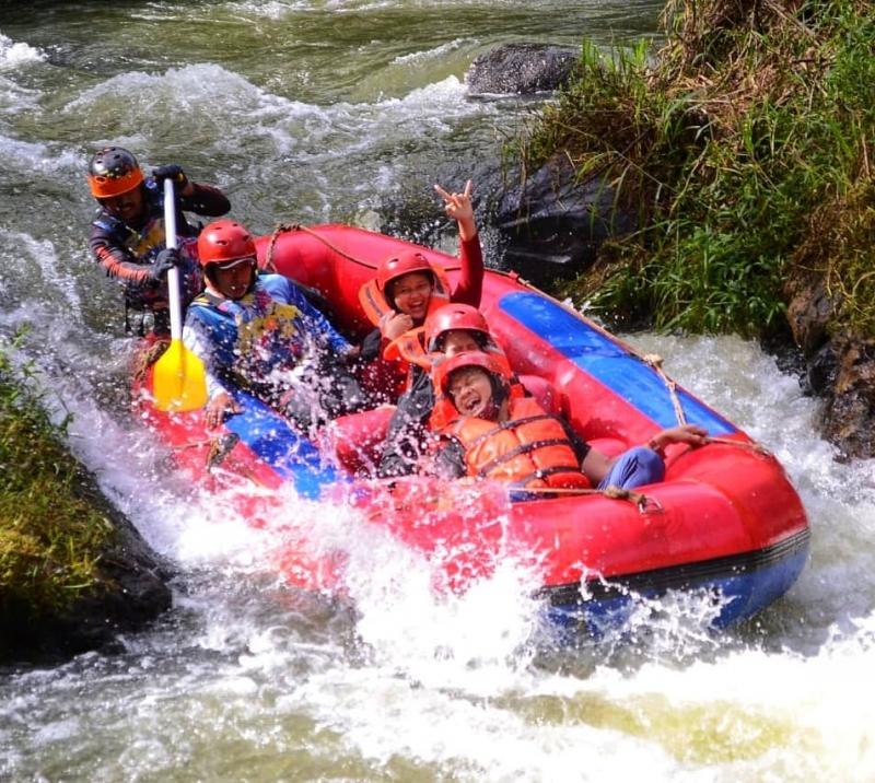 outbound bandung rafting panggalengan 2